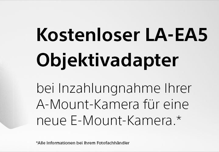 Sony A-Mount Trade-In-Aktion