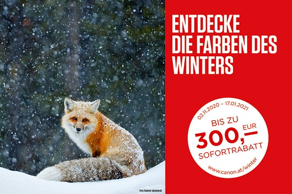 Canon Winter Promotion 2020
