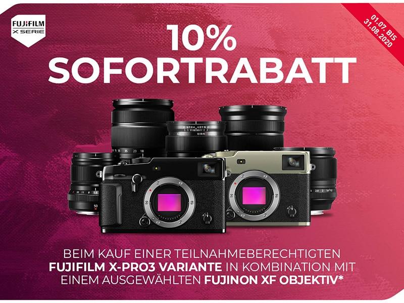 Fujifilm X-PRO3 Sofortrabatt