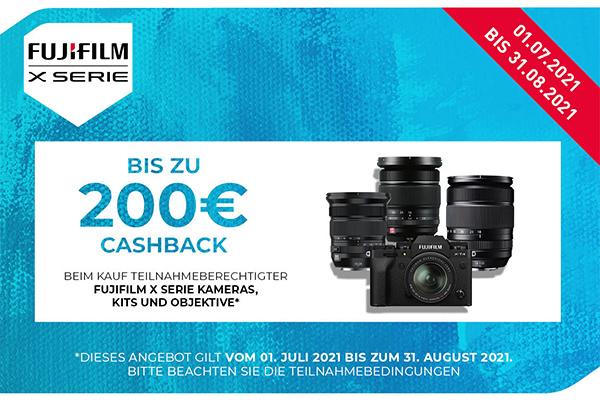 FUJIFILM X-Summer Cashback 2021