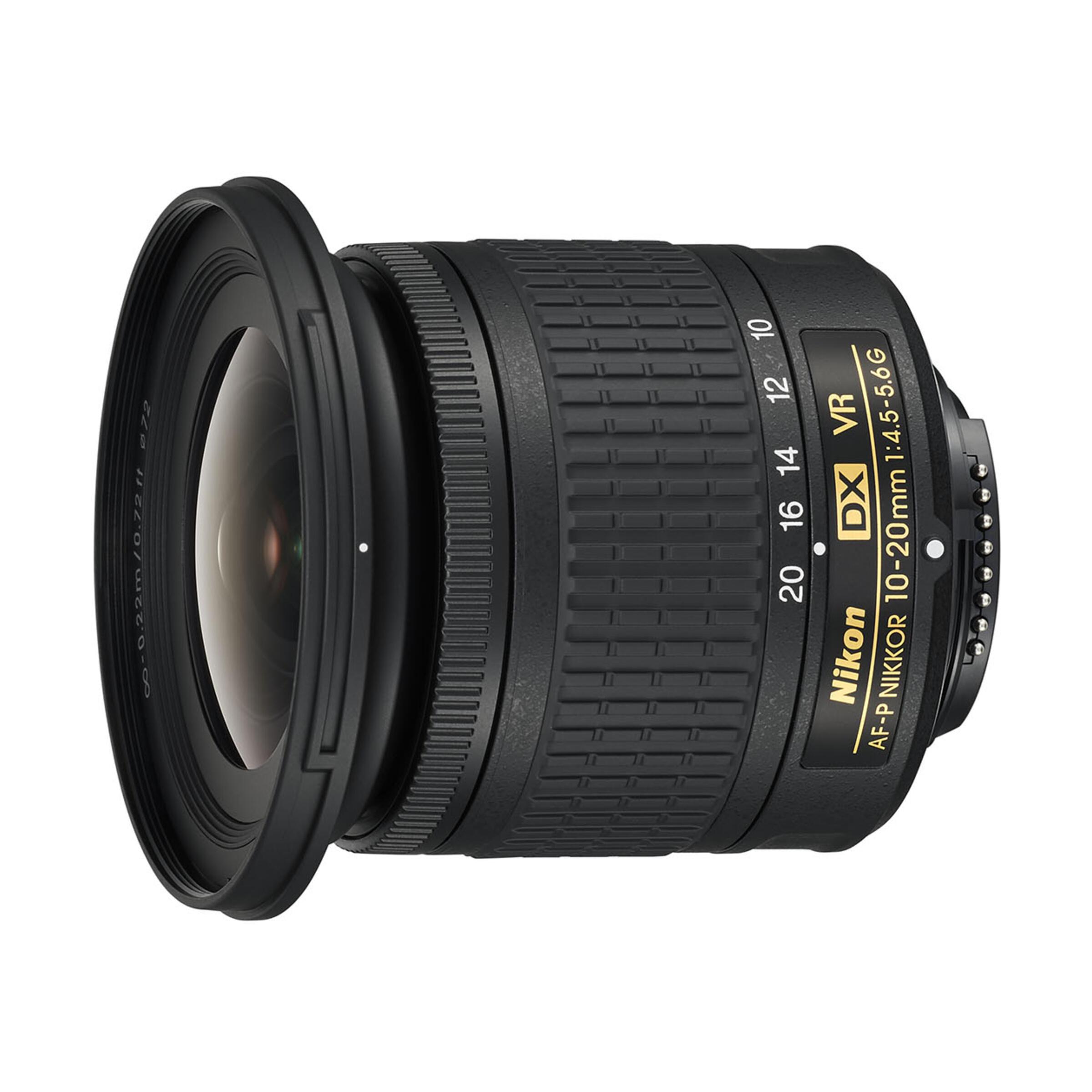 Nikon AF-P DX 10-20mm f/4,5-5,6 G VR