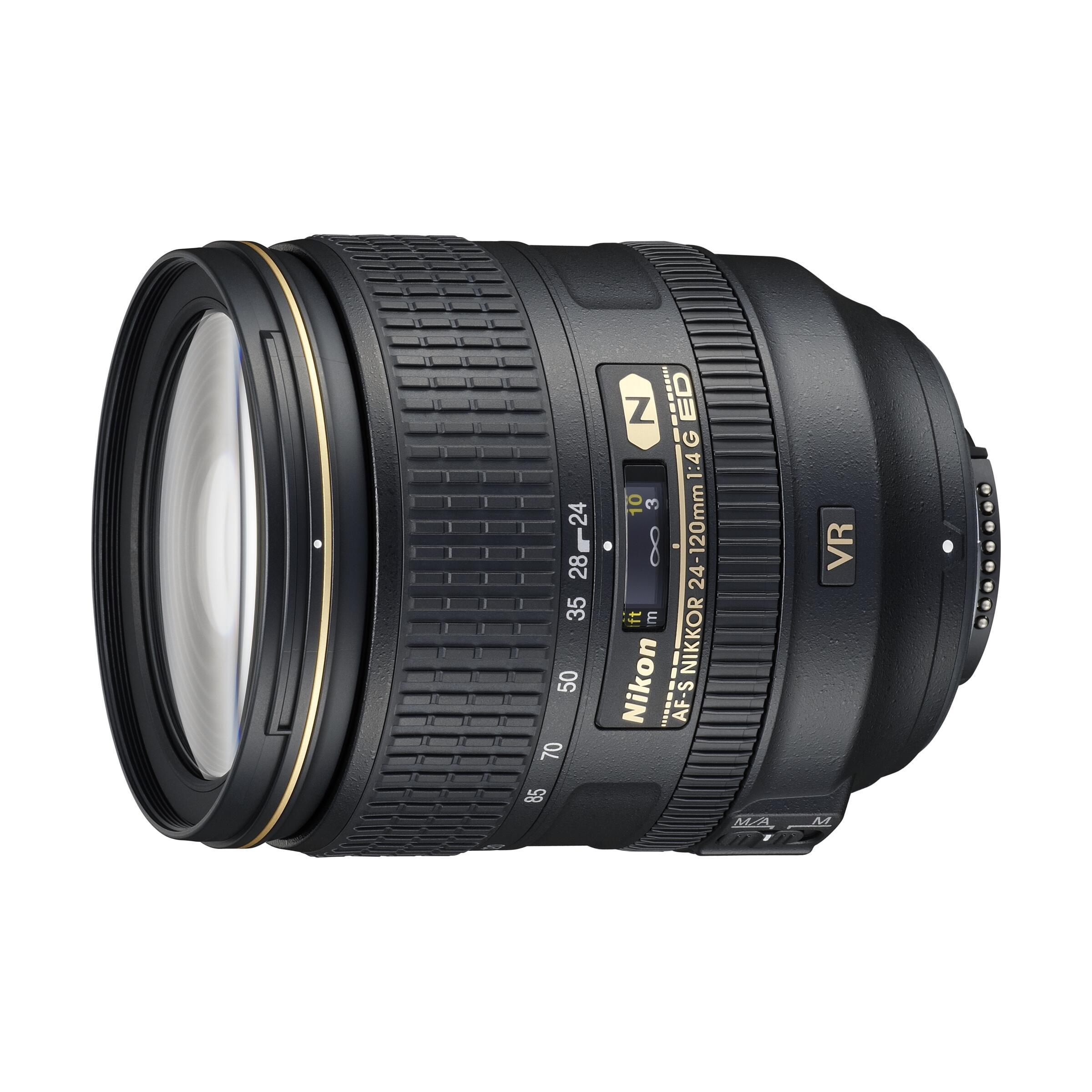 Nikon AF-S 24-120mm f/4,0 G ED VR