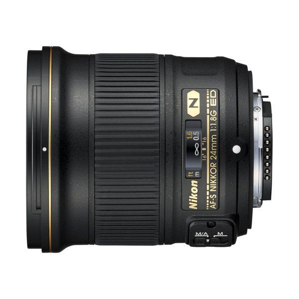 Nikon AF-S 24mm f/1,8 G ED