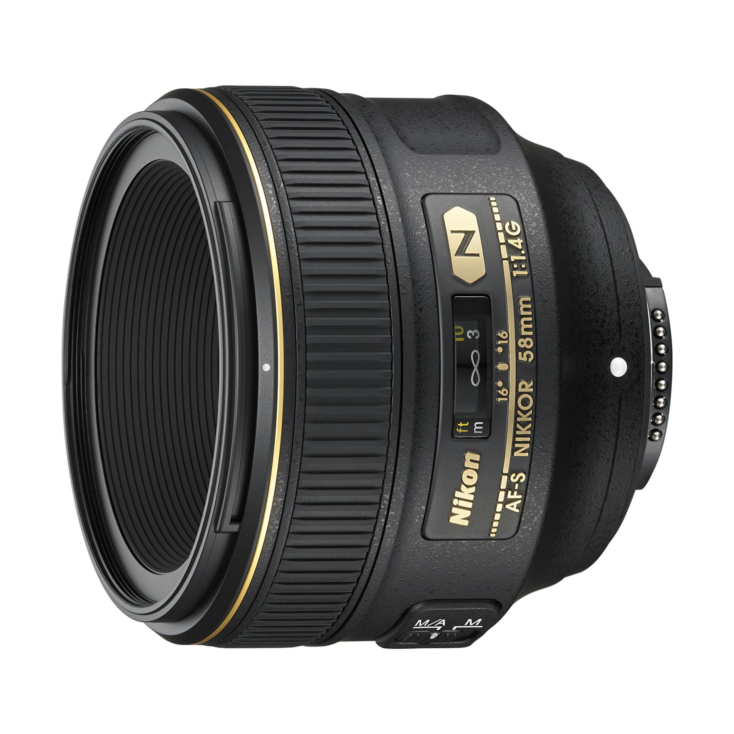 Nikon AF-S 58mm f/1,4 G