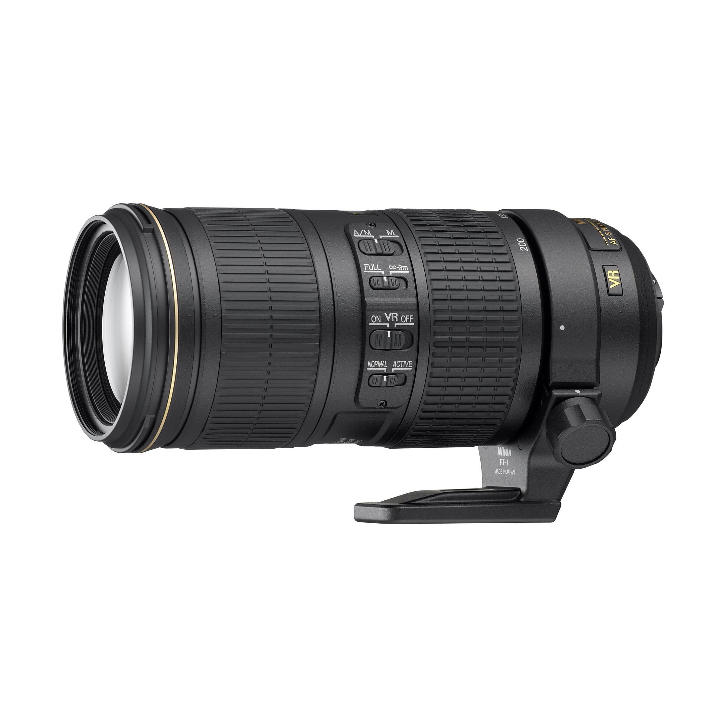 Nikon AF-S 70-200mm f/4,0 G ED VR
