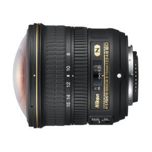 Nikon AF-S FISHEYE 8-15mm f/3,5-4,5E ED