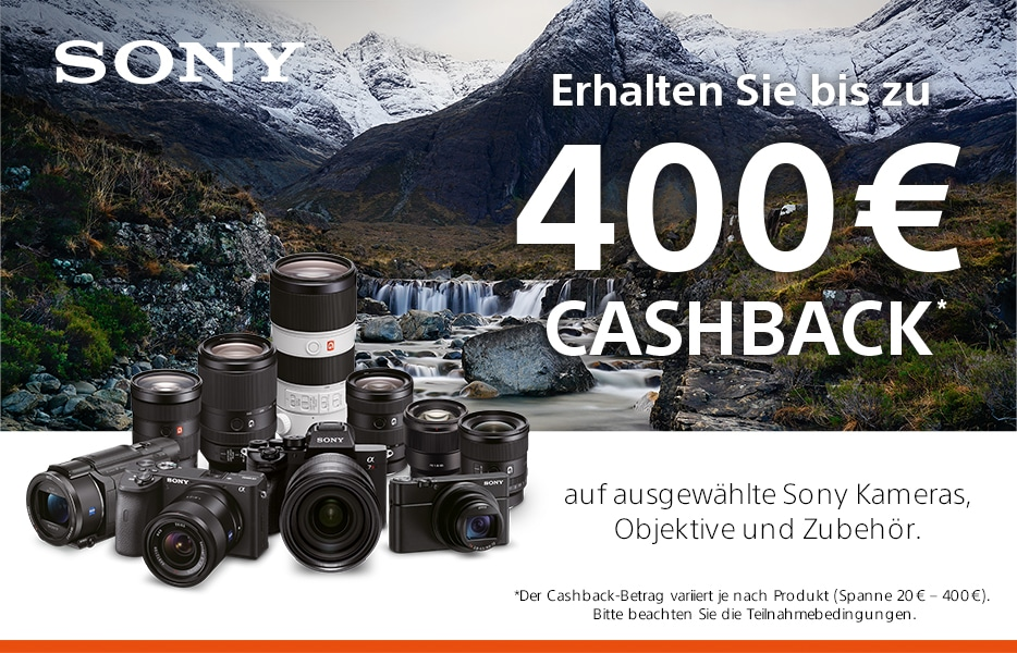 Sony Winter Cashback 2020