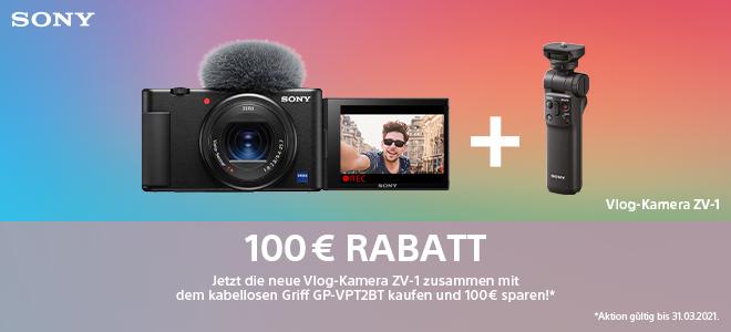 Sony ZV-1 Vlogging-Aktion