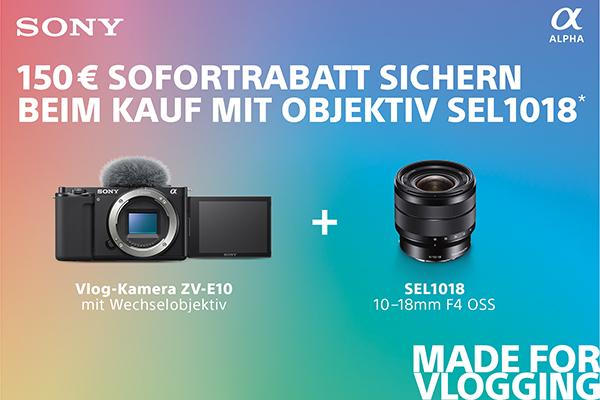 Sony ZV-E10 + SEL1018 Softbundle