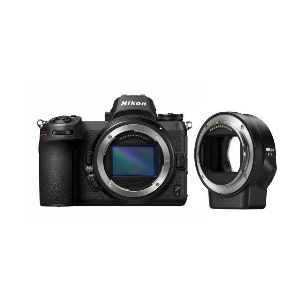 Nikon Z 7 + Bajonett Adapter FTZ Kit