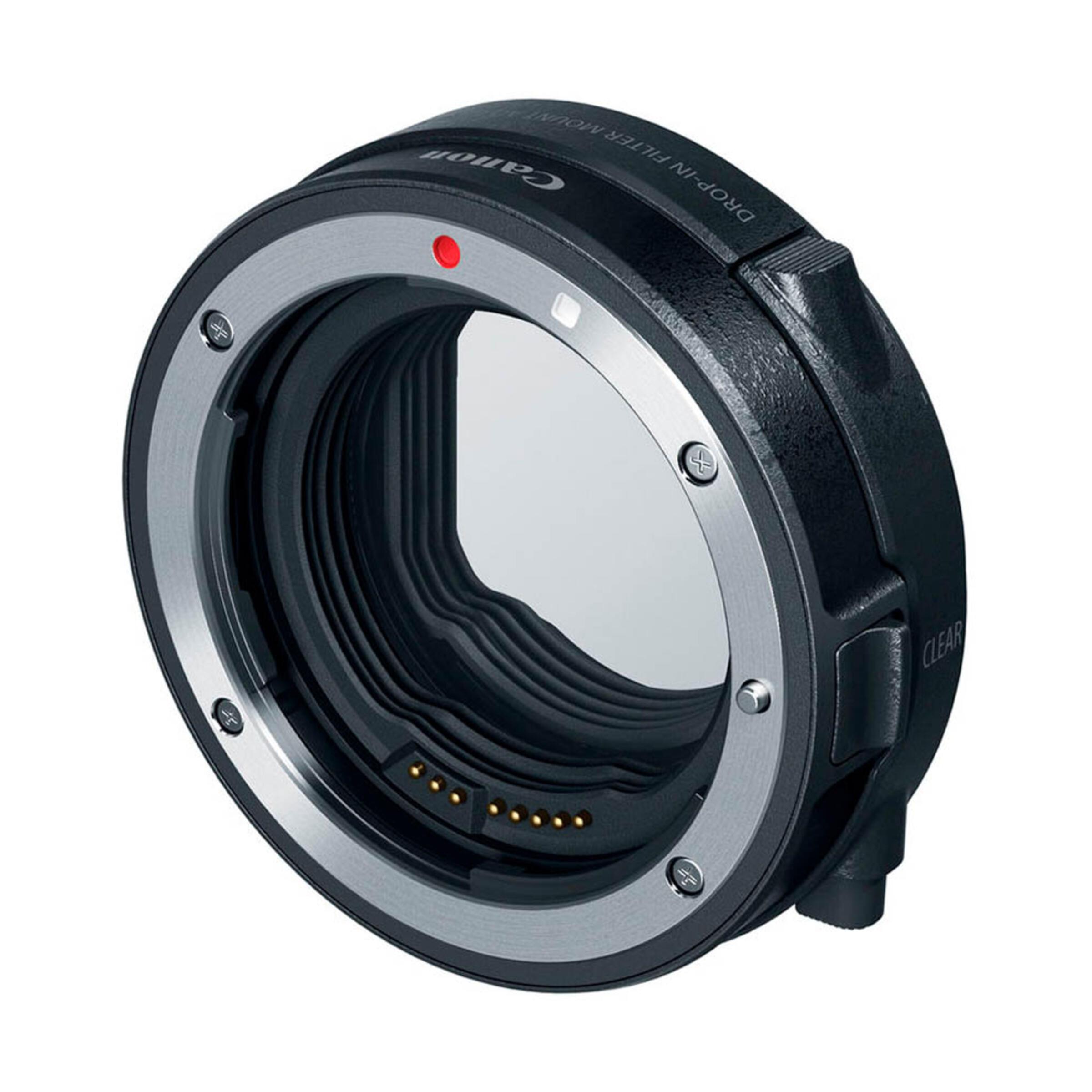 Canon EF-EOS R Bajonettadapter mit Einsteckfilter (V-ND)