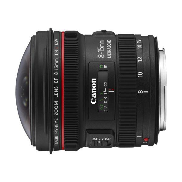 Canon EF 8-15mm f/4,0 L Fisheye USM