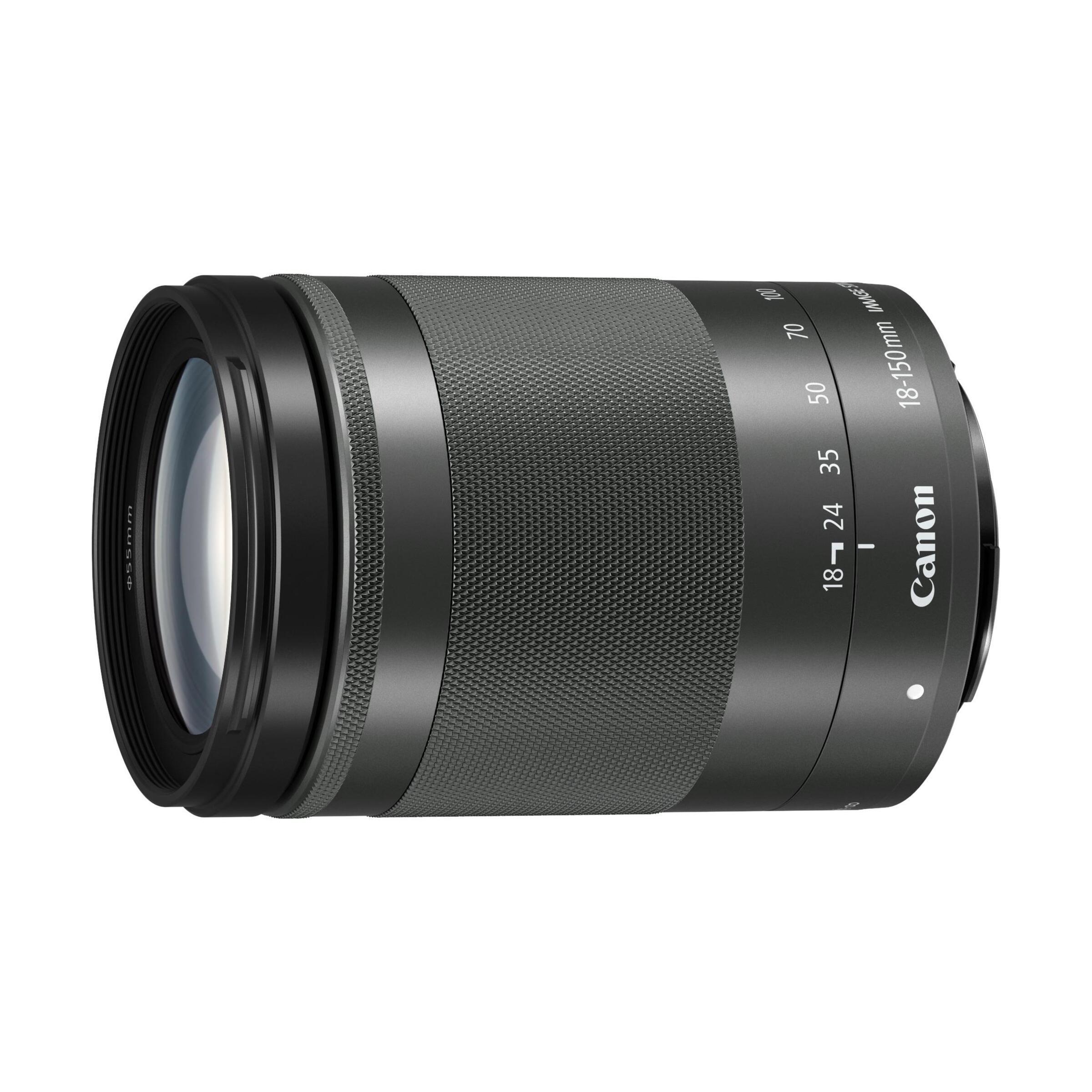 Canon EF-M 18-150mm f/3,5-6,3 IS STM : Schwarz