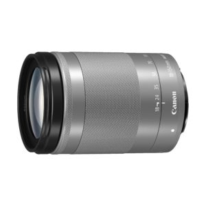 Canon EF-M 18-150mm f/3,5-6,3 IS STM : Silber