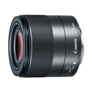 Canon EF-M 32mm f/1,4 STM : Schwarz