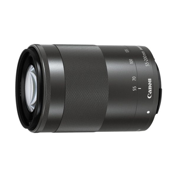 Canon EF-M 55-200mm f/4,5-6,3 IS STM : Graphit-Grau