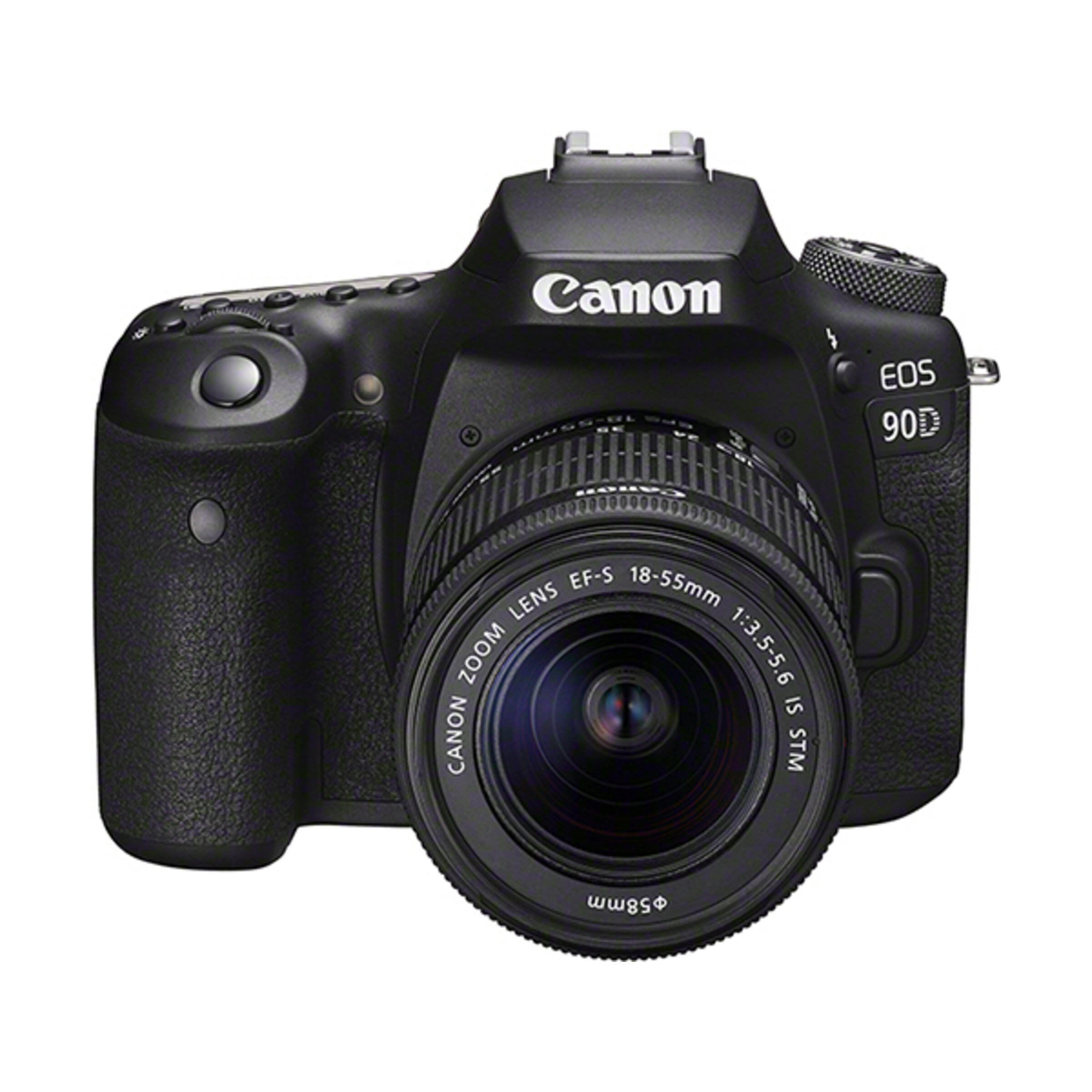 Canon EOS 90D + EF-S 18-55mm IS STM