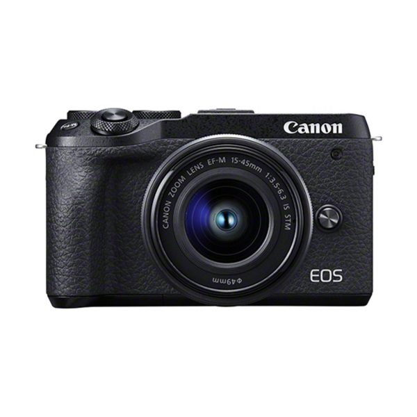 Canon EOS M6 Mark II + EF-M 15-45mm IS STM + EVF-DC1