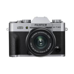 Fujifilm X-T20 + XC 15-45mm : Silber
