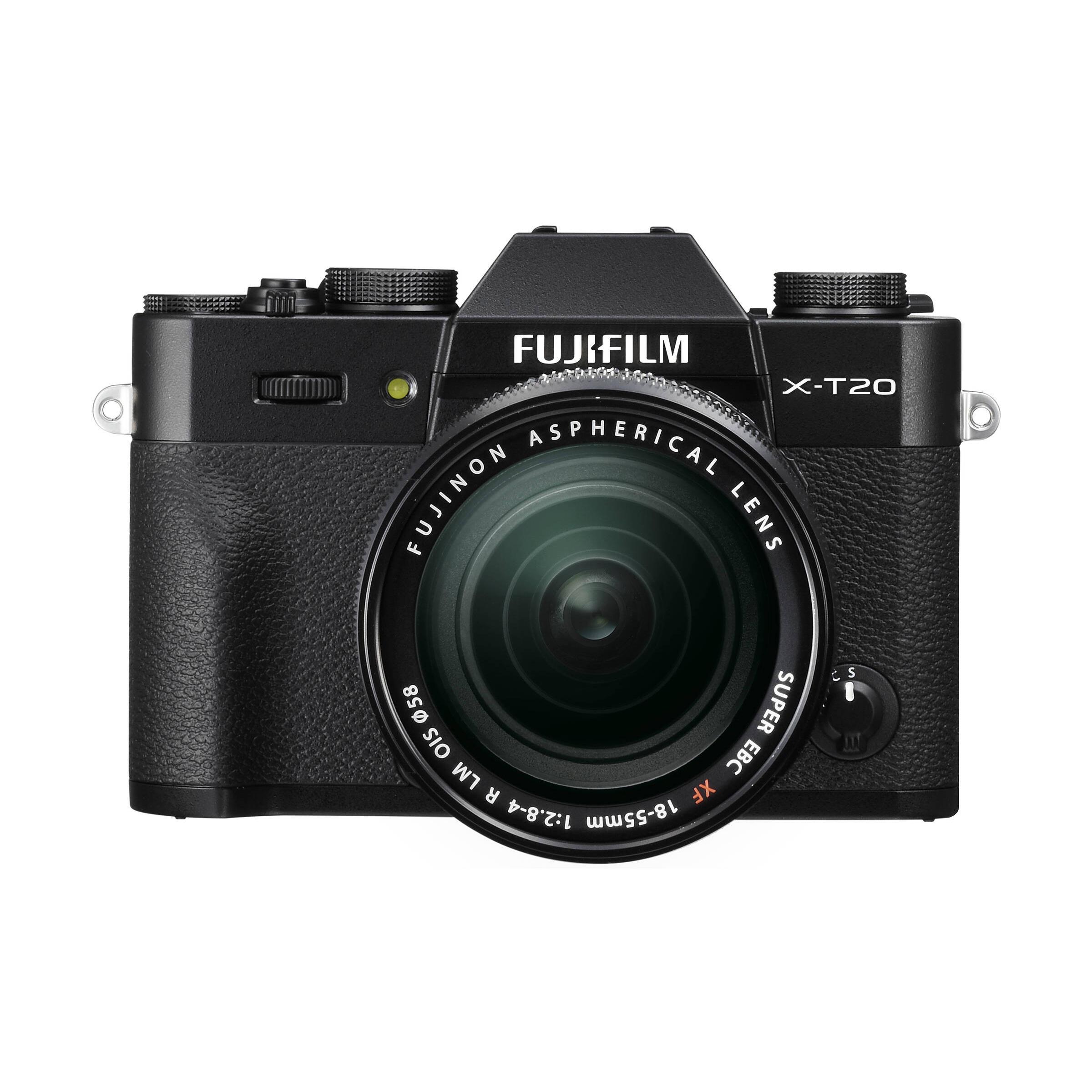 Fujifilm X-T20 + XF 18-55mm R LM OIS : Schwarz
