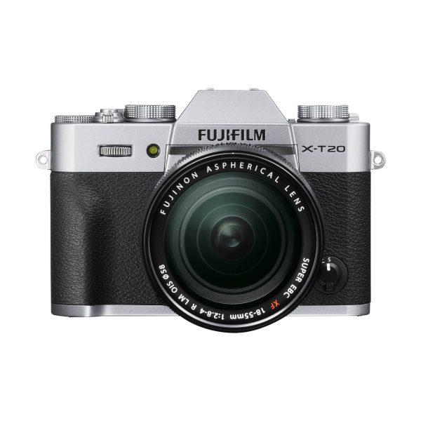 Fujifilm X-T20 + XF 18-55mm R LM OIS : Silber