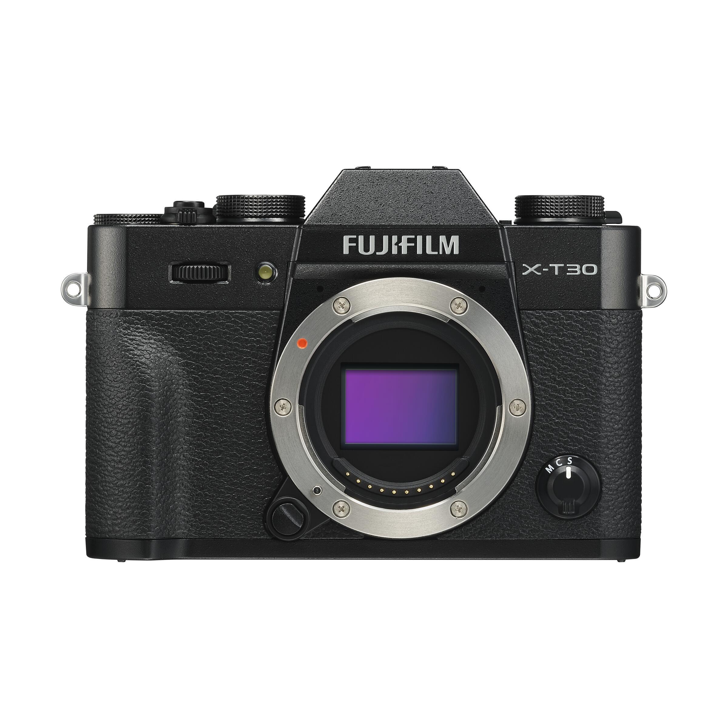 Fujifilm X-T30 : Schwarz