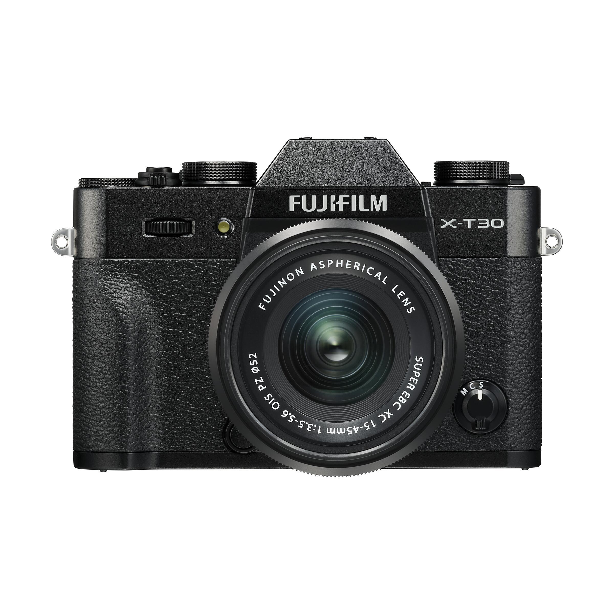 Fujifilm X-T30 + XC 15-45mm OIS PZ : Schwarz