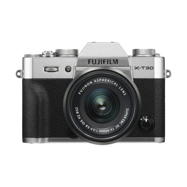 Fujifilm X-T30 + XC 15-45mm OIS PZ : Silber