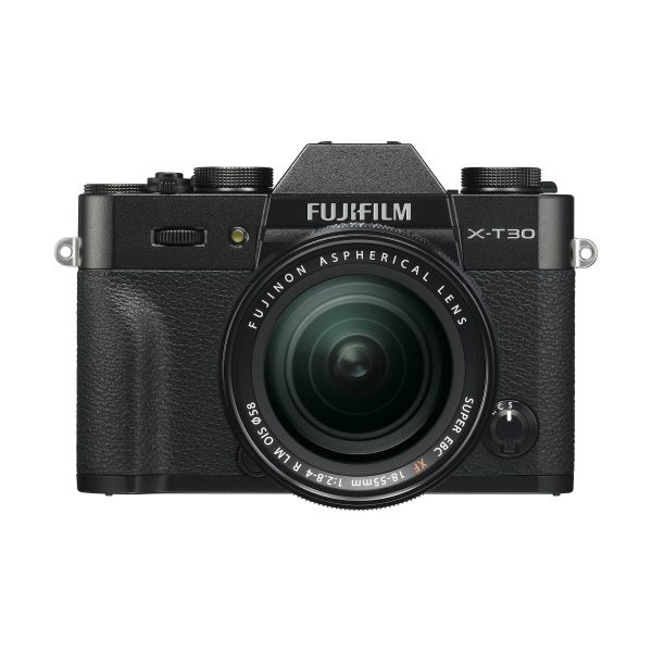 Fujifilm X-T30 + XF 18-55mm R LM OIS : Schwarz