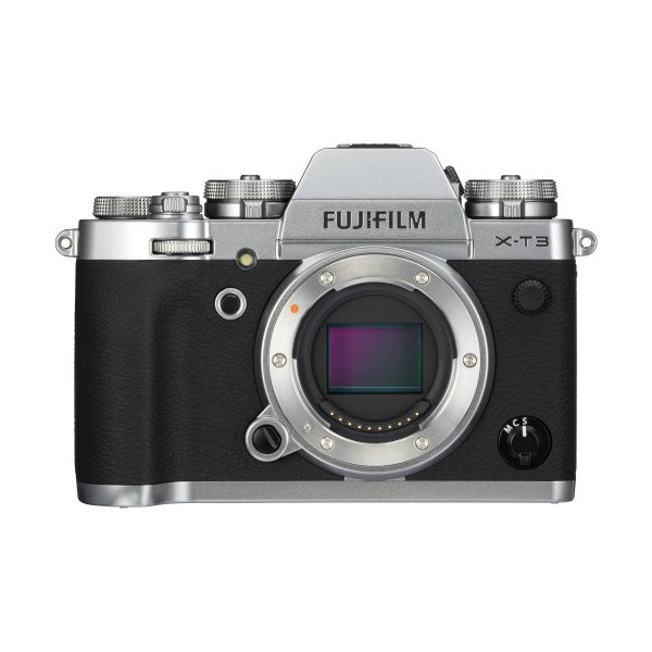 Fujifilm X-T3 : Silber