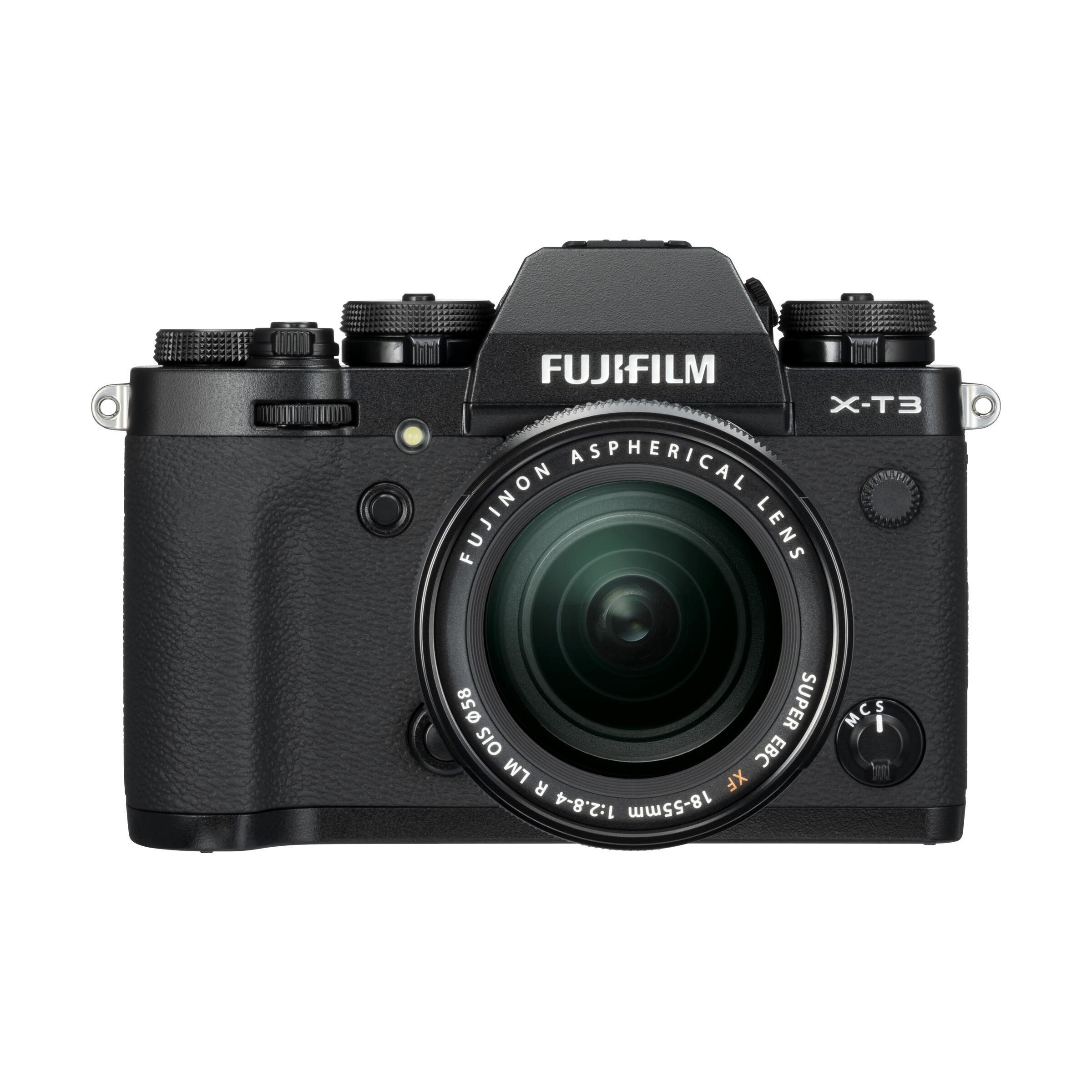 Fujifilm X-T3 + XF 18-55mm R LM OIS : Schwarz