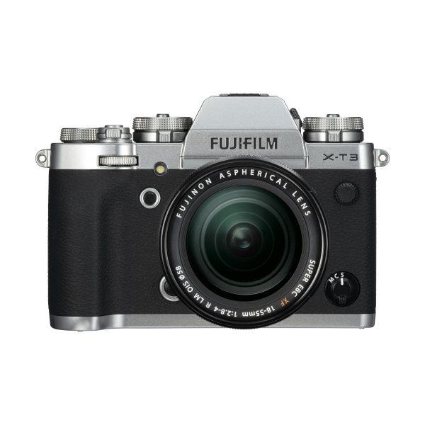 Fujifilm X-T3 + XF 18-55mm R LM OIS : Silber