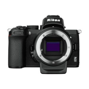 Nikon Z 50 + FTZ Objektivadapter