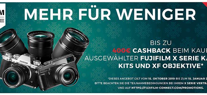 Fujifilm X-Serie Winter Cashback