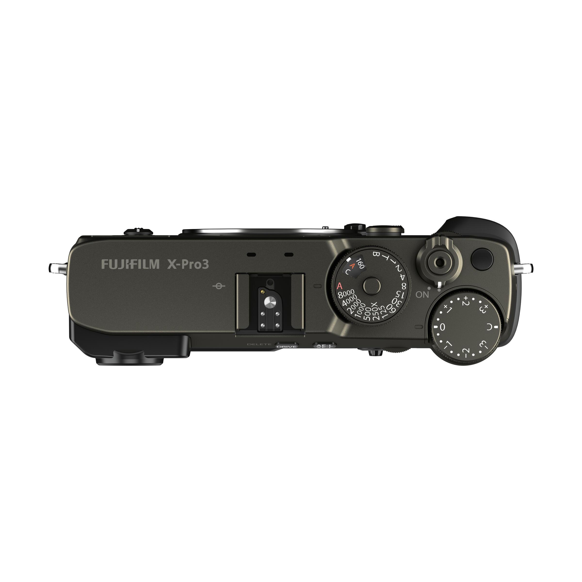 Fujifilm X-Pro3 : DURA Schwarz