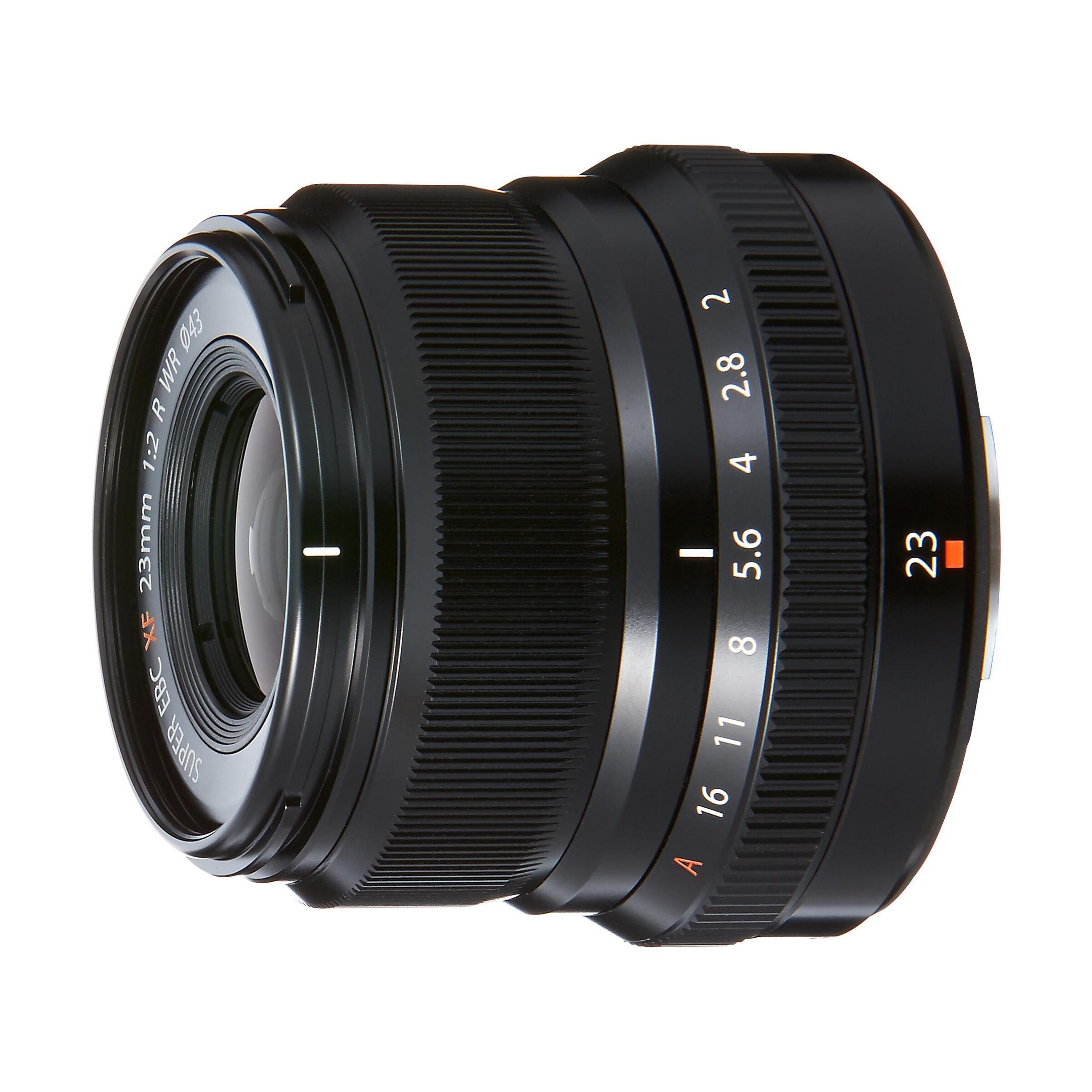 Fujifilm XF 23mm f/2,0 R WR : Schwarz