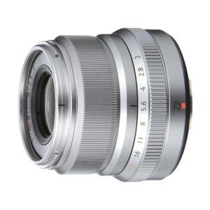 Fujifilm XF 23mm f/2,0 R WR : Silber