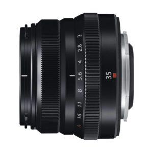 Fujifilm XF 35mm f/2,0 R WR : schwarz