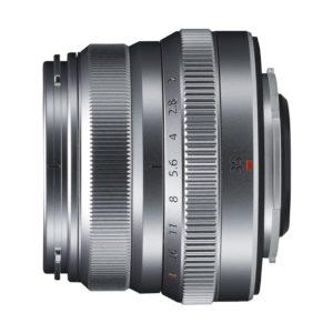 Fujifilm XF 35mm f/2,0 R WR : Silber