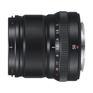 Fujifilm XF 50mm f/2,0 R WR : Schwarz