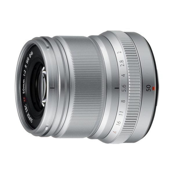 Fujifilm XF 50mm f/2,0 R WR : Silber