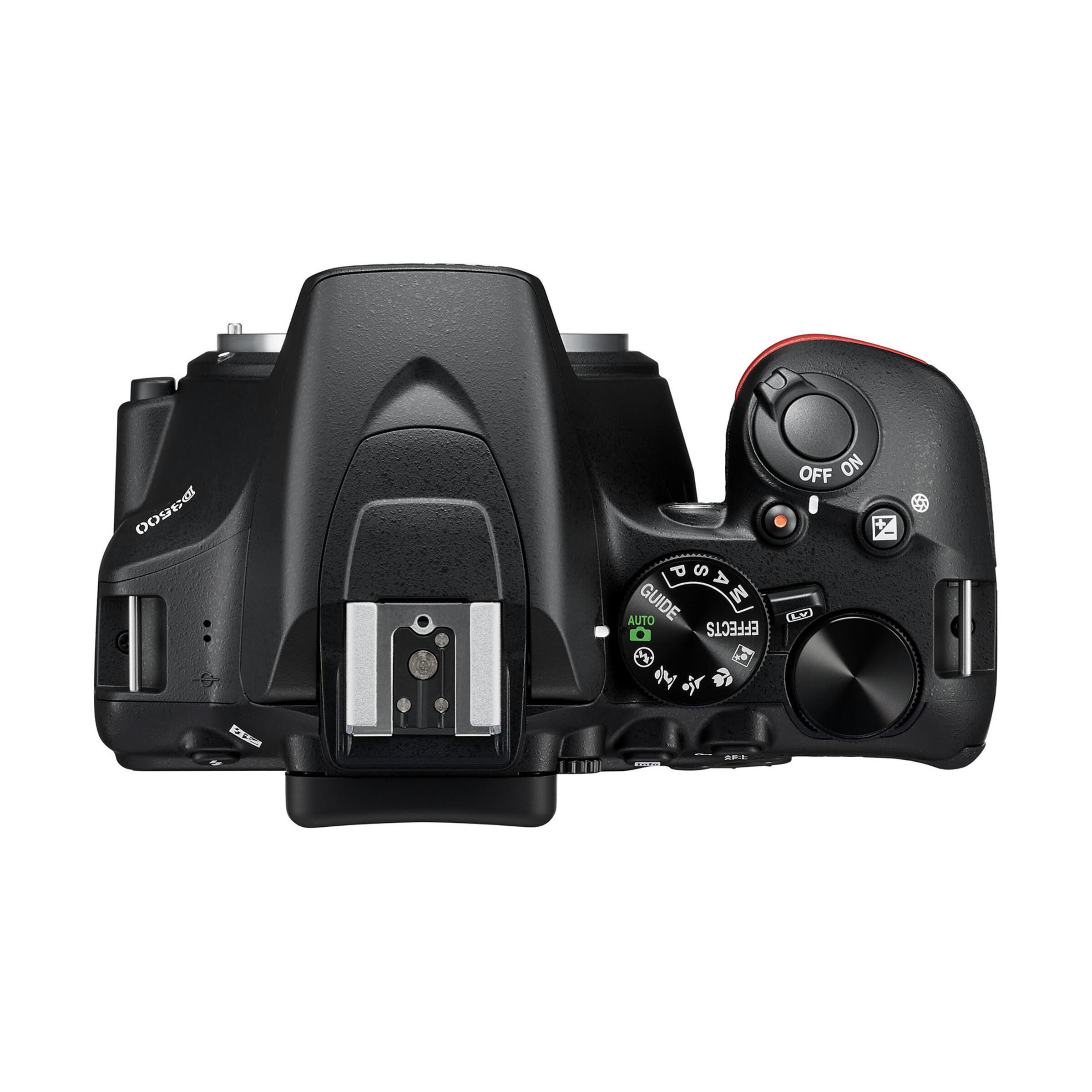 Nikon D3500 + AF-P DX 18-55mm G VR