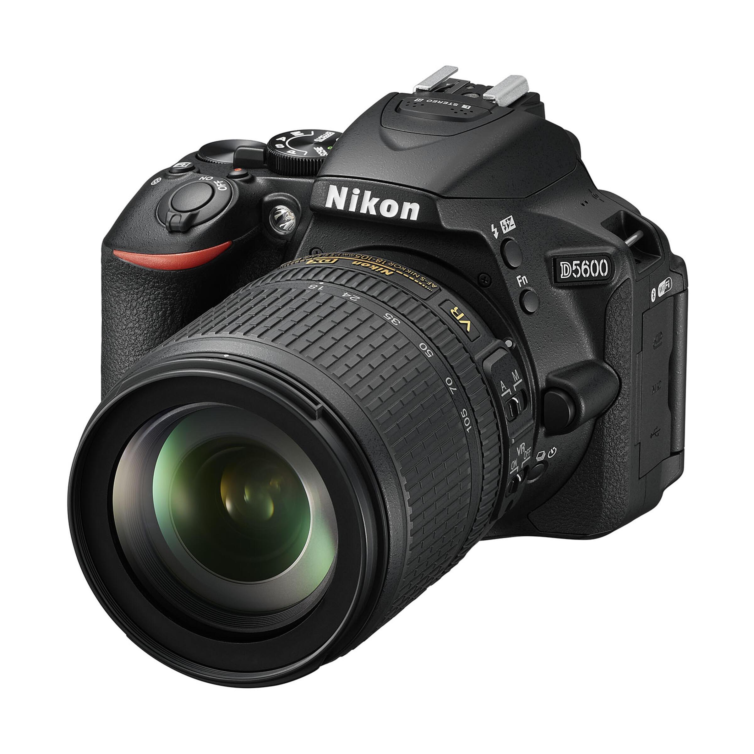 Nikon D5600 + AF-S DX 18-105mm G ED VR