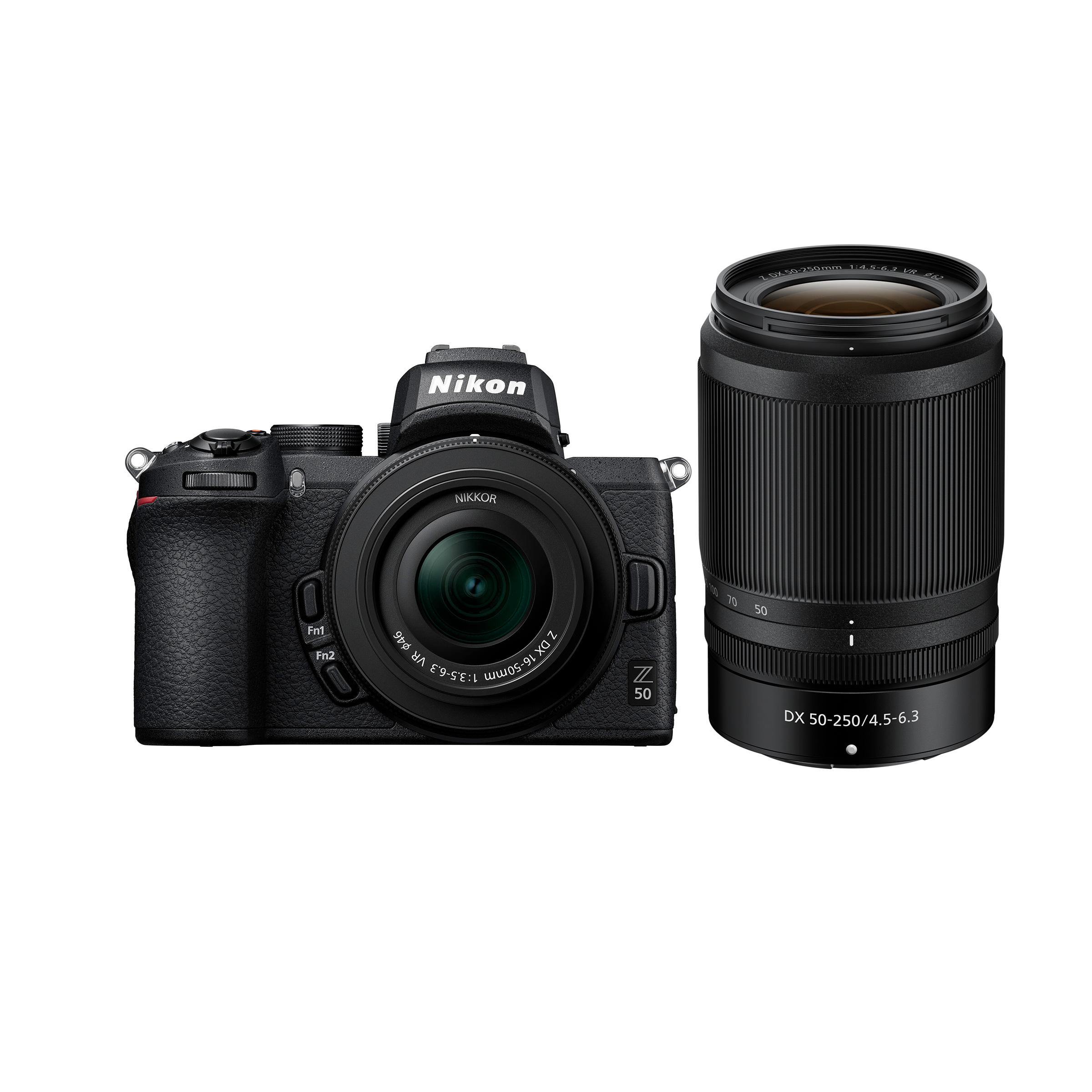 Nikon Z 50 + Z DX 16-50mm VR + Z DX 50-250mm VR