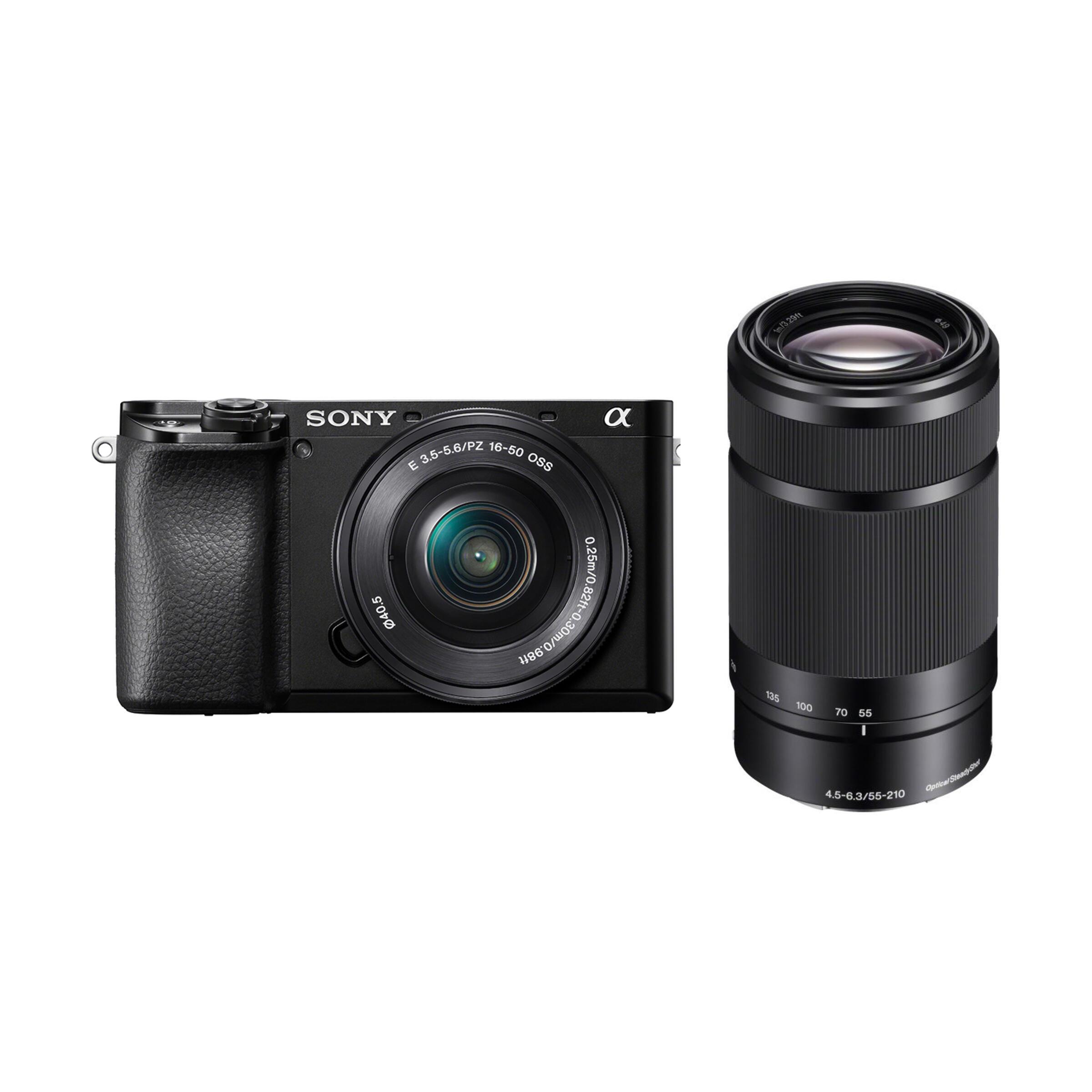 Sony Alpha 6100 + E PZ 16-50mm