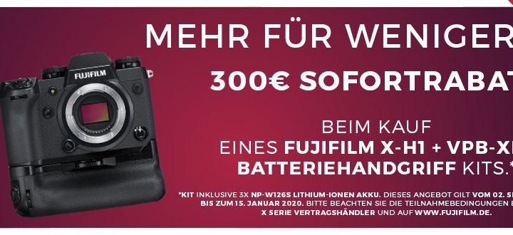 Fujifilm X-H1 Griff-Kit Sofortrabatt