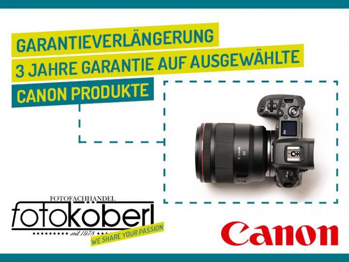 Canon Garantieverlängerung