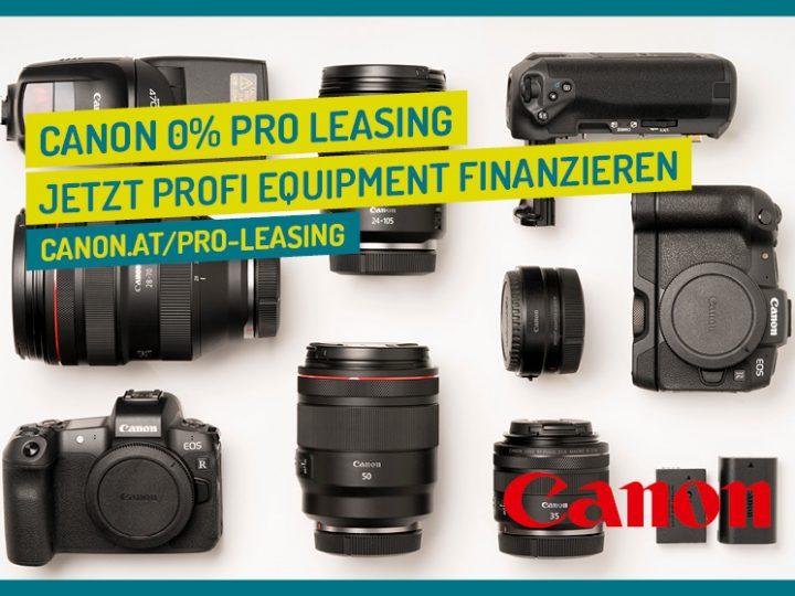 Canon 0% Pro Leasing Aktion