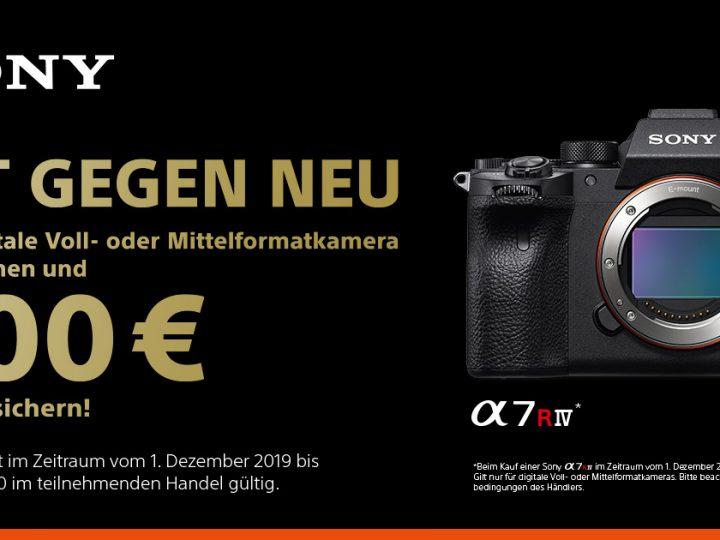 Sony Alpha 7R IV Eintauschaktion