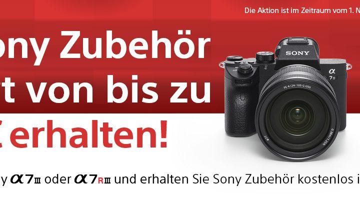 Sony Zubehöraktion für Alpha 7 III | Alpha 7R III